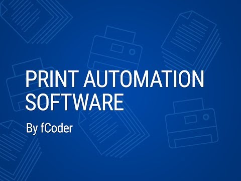 Print Automation Software By FCoder