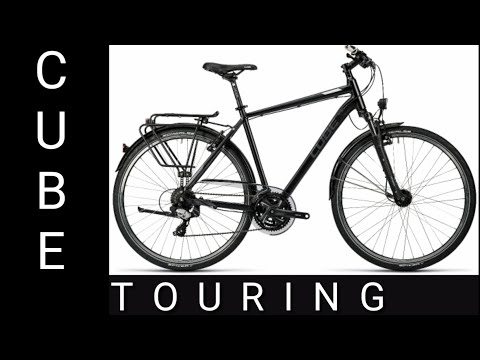 CUBE TOURING - мой новый велосипед.