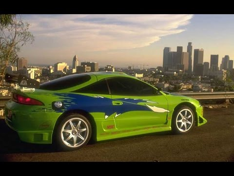 The Fast And The Furious - Mitsubishi Eclipse PROJECT - YouTube