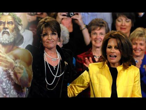 Sarah Palin & Michele Bachmann Hilariously Explain Why They Think Trump Won