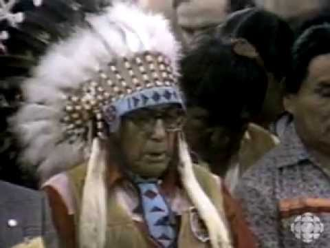 """First Amendment to Canada's """"New"""" Constitution Concerns First Peoples (Aboriginals) (1983-03-16)"""