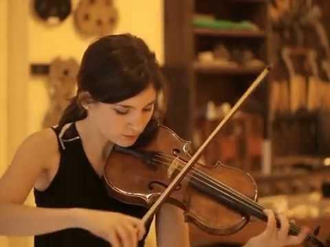 A&H Amati model violin by maestro Valerio Ferron from Cremona