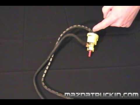 Mazda B2200 Carburetor Diagram Ae86 Radio Wiring B2000 Vacuum Control Valve Youtube