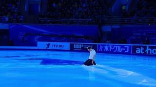 Дмитрий Алиев Показательные выступления Гран при по фигурному катанию 2020 21 Rostelecom Cup