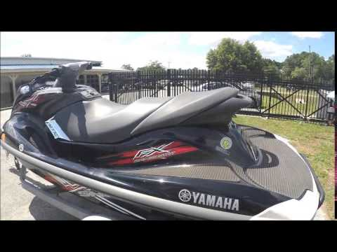 2008 Yamaha PWC FX SHO Waverunner - YouTube