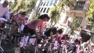 Reebok Sports Club y sus clases de Cycle en la inauguración de la calle Serrano