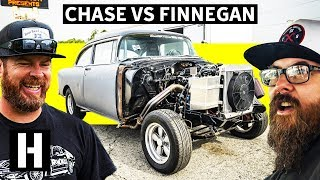 Will he Pass?? Hail Mary NHRA Drag License Test in the Chase vs Finnegan Saga!