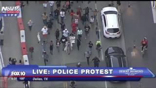 FNN. Dallas Police Officers Killed In Ambush