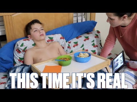 FAKING SICK TO SKIP SCHOOL KARMA GETS OLDER BROTHER! CHECKED OUT OF SCHOOL SICK