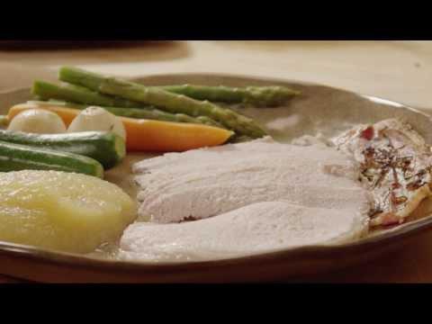 How to Make Herb, Garlic and Bacon Pork Loin | Pork Recipes | Allrecipes.com