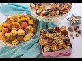 الحلويات مع عبير - طريقة عمل البيتيفور السواريه الملون ج2