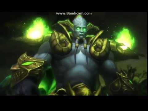 World of Warcraft: Gul'dan's Plan (Pre-Archimonde Cinematic)