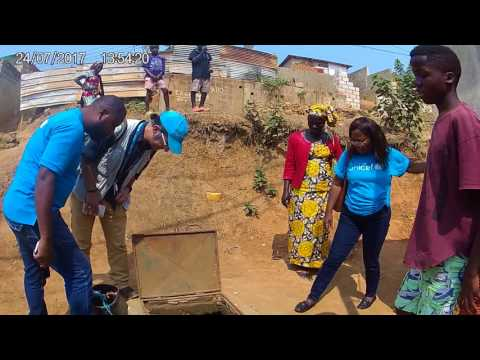 Combatendo a colera em Cabinda (Angola)