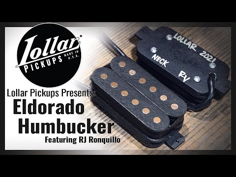 Lollar Pickups Presents: RJ Ronquillo Demonstrating the Eldorado Humbucker