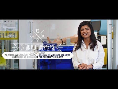 Dr Anjali Jaiprakash - Robobiologist