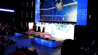 WWE Smackdown Intro and Pyro July 12, 2011 at Mohegan Sun Arena
