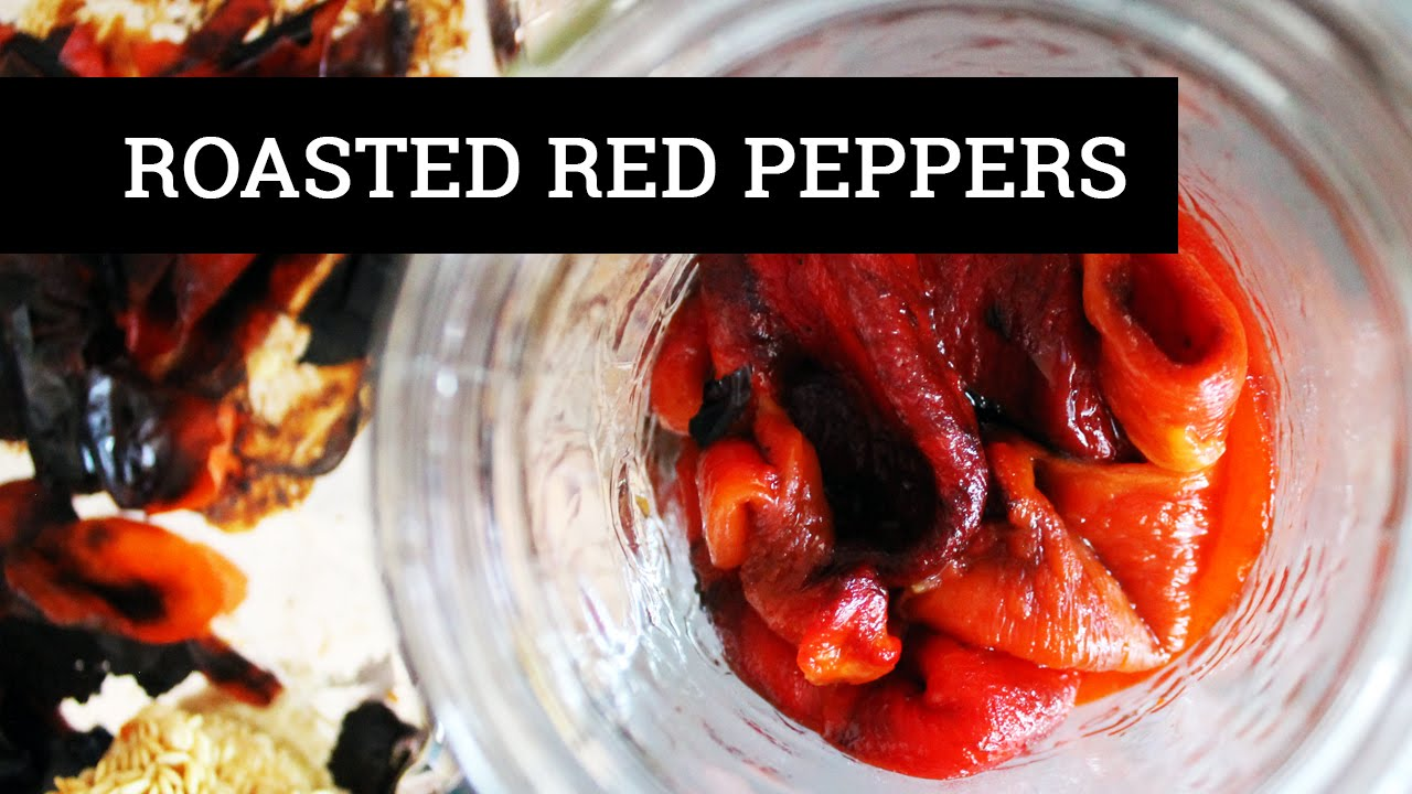 ROASTED RED PEPPERS IN THE OVEN | Mary's Test Kitchen