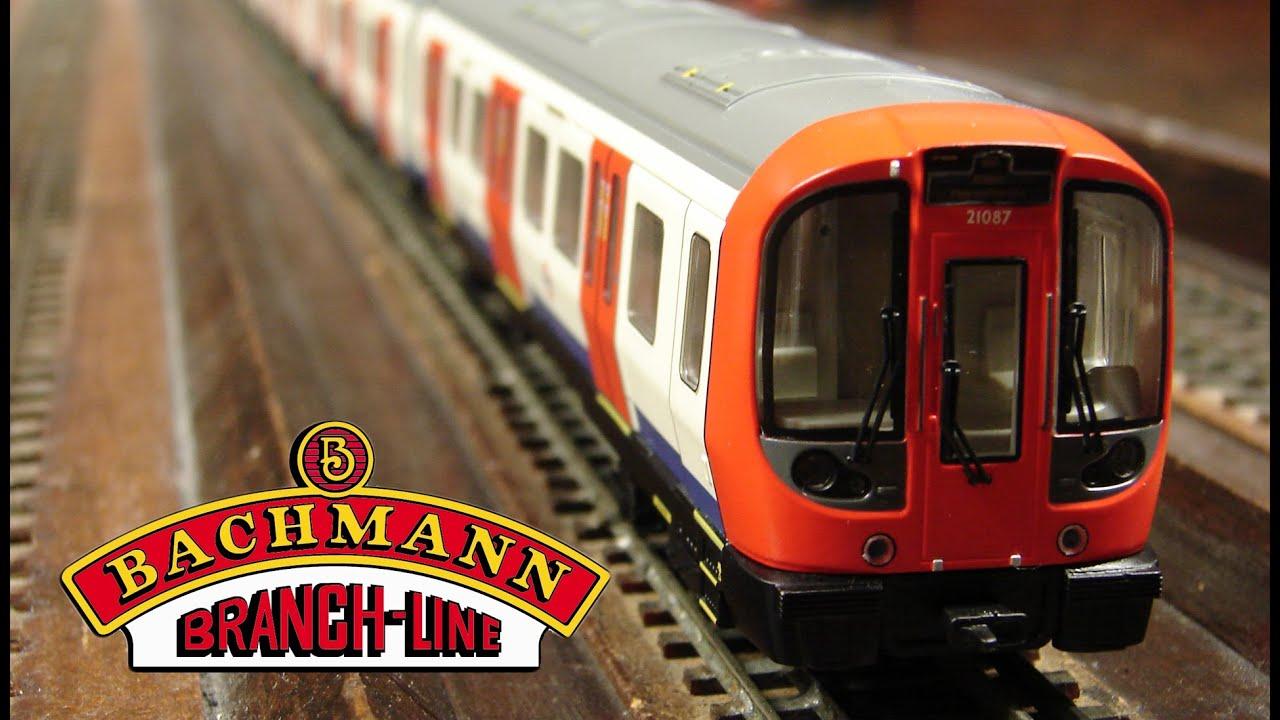 Oo Scale Bachmann London Underground S Stock Youtube