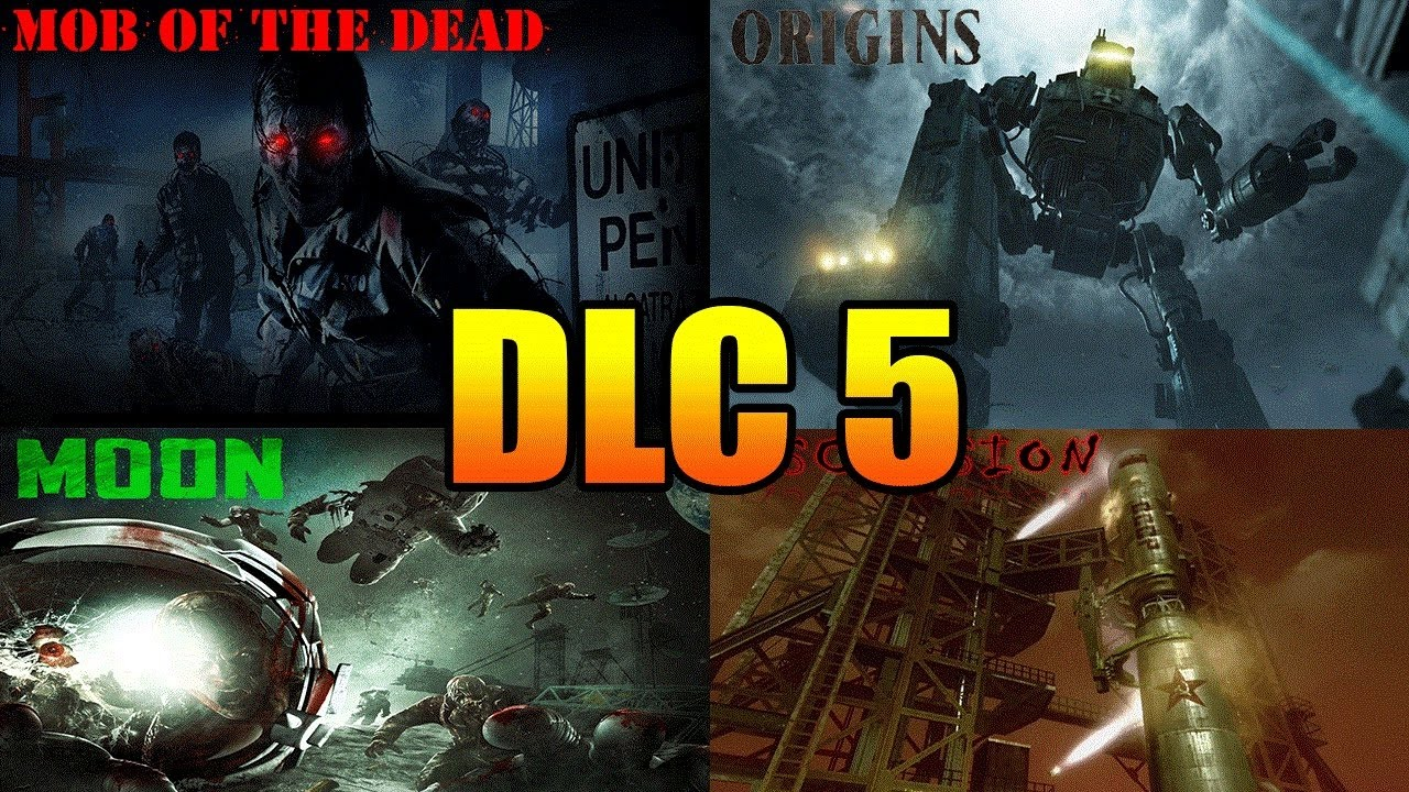 BLACK OPS ZOMBIES ONLY DLC Remastered Zombies Maps Coming - All of us remastered bo3 zombies maps