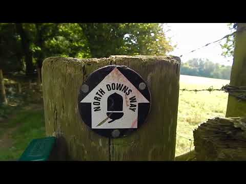 The North Downs Way: Wye to Etchinghill 19 September 2017