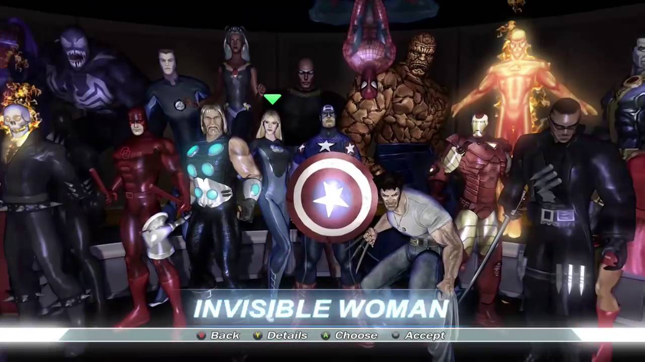 characters alliance Marvel ultimate