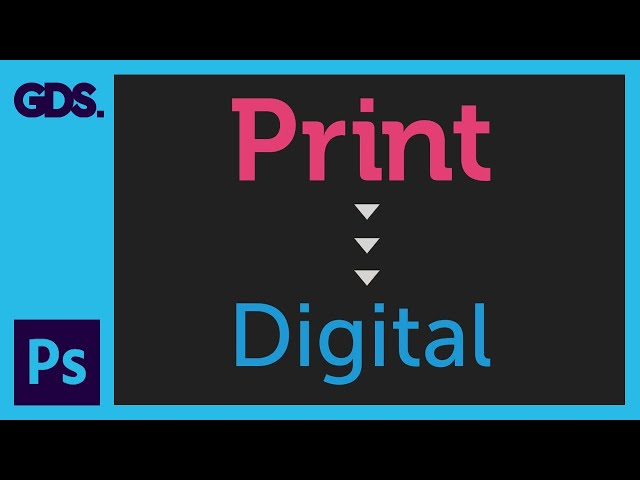 Adapt a print design for a web banner Ep32/33 [Adobe Photoshop for Beginners]