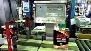 Взвешивание масла TCL на заводе в Японии