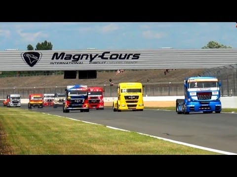 GP Camions Magny-Cours 2012 - Show, course et animations !