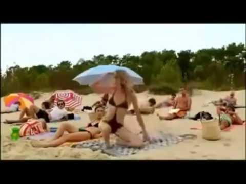Прикол на пляже!!!Смотреть всем!!! смотреть онлайн видео