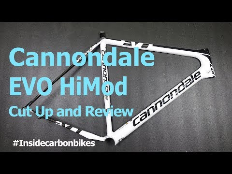 Cannondale SuperSix Evo HiMod - Cut up and review