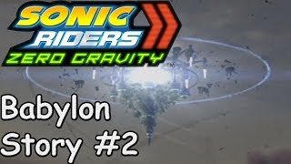 Sonic Riders Zero Gravity - Babylon Rogues Story - #2 (Ending)