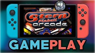 Stern Pinball Arcade | First 10 Minutes | Nintendo Switch