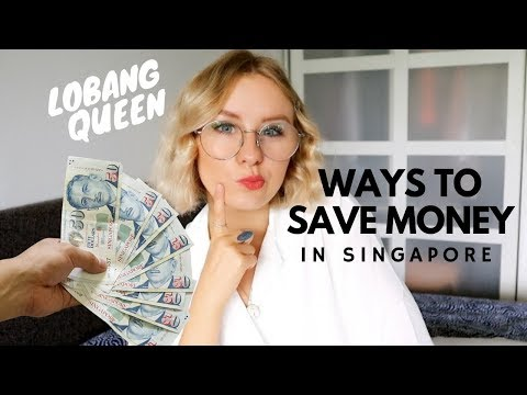 5 WAYS TO SAVE MONEY IN SINGAPORE!