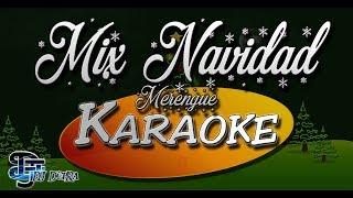 ♫ Mix Karaoke Navidad Merengue |Creado por Dj DEpRa| ♫