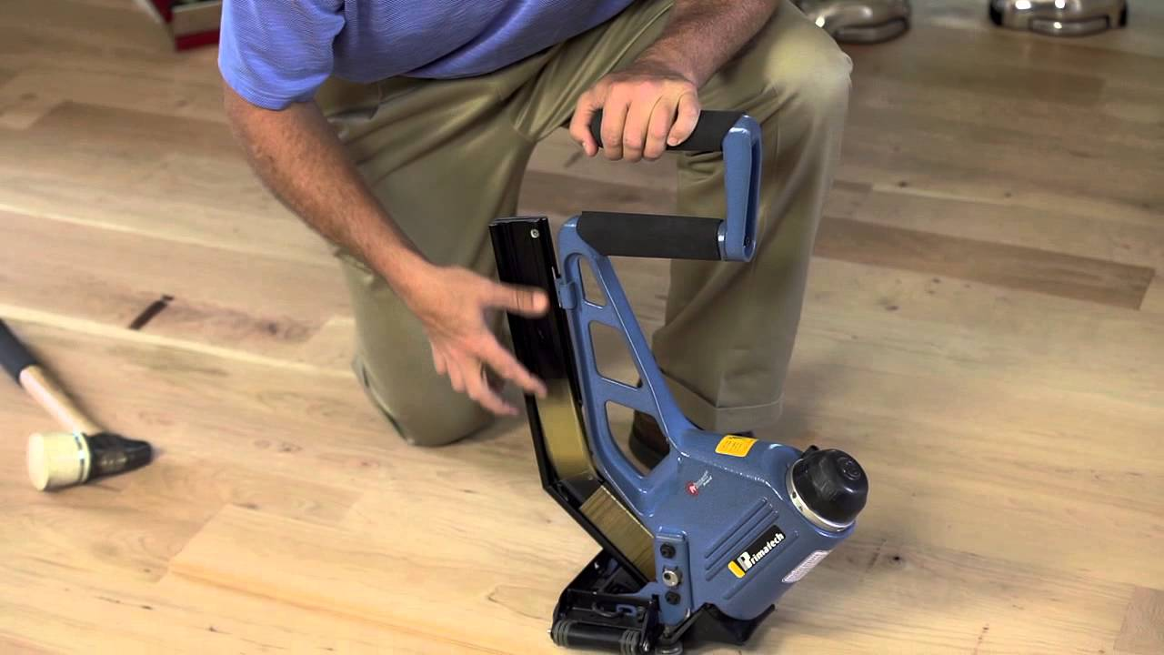 Primatech P250 Pneumatic Floor Nailer