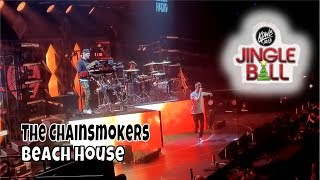 The Chainsmokers - Beach House | KDWB Jingle Ball | StewarTV