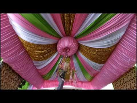 Tenda dekorasi simpel rancang di bawah
