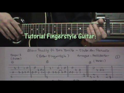 Tutorial: Cinta Dan Rahasia - Glenn Ft Yura On Fingerstyle Guitar + Tabs