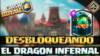 buy the infernal dragon epic (Clash royale)