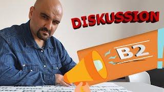 Diskussion Prüfungsvorbereitung telc B2 Mündlich | Hacı Ahmet Altıner