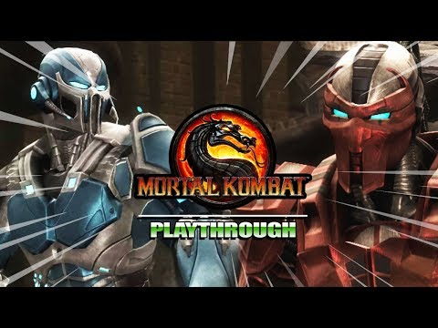THE CYBER INITIATIVE BEGINS : Story Mode - Mortal Kombat 9 (Part 9) thumbnail