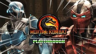 THE CYBER INITIATIVE BEGINS : Story Mode - Mortal Kombat 9 (Part 9)