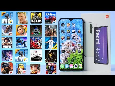 Game Test Xiaomi Redmi Note 8 Pro In 20 Games Android Fortnite - PUBG - ARK - Call Of Duty🔥