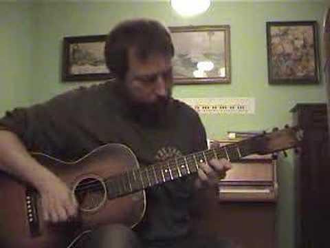 vintage 30s slingerland maybell guitar