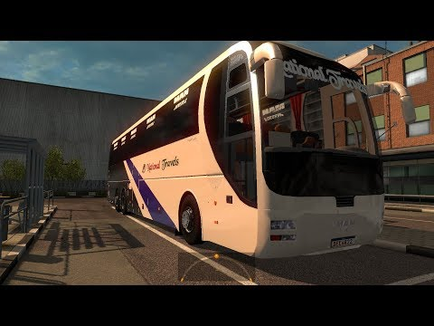 ETS2: Chittagong to Dhaka (National Travels MAN Lion's Coach)