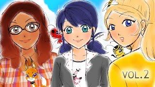 Miraculous Days Animation Movie Volume #2 | Miraculous Ladybug Comic Dubs Compilation