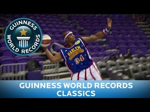 Guinness World Records Day - Longest basketball s