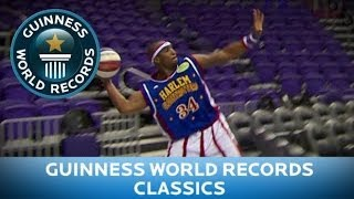 Guinness World Records Day 2013 - Longest basketball shot