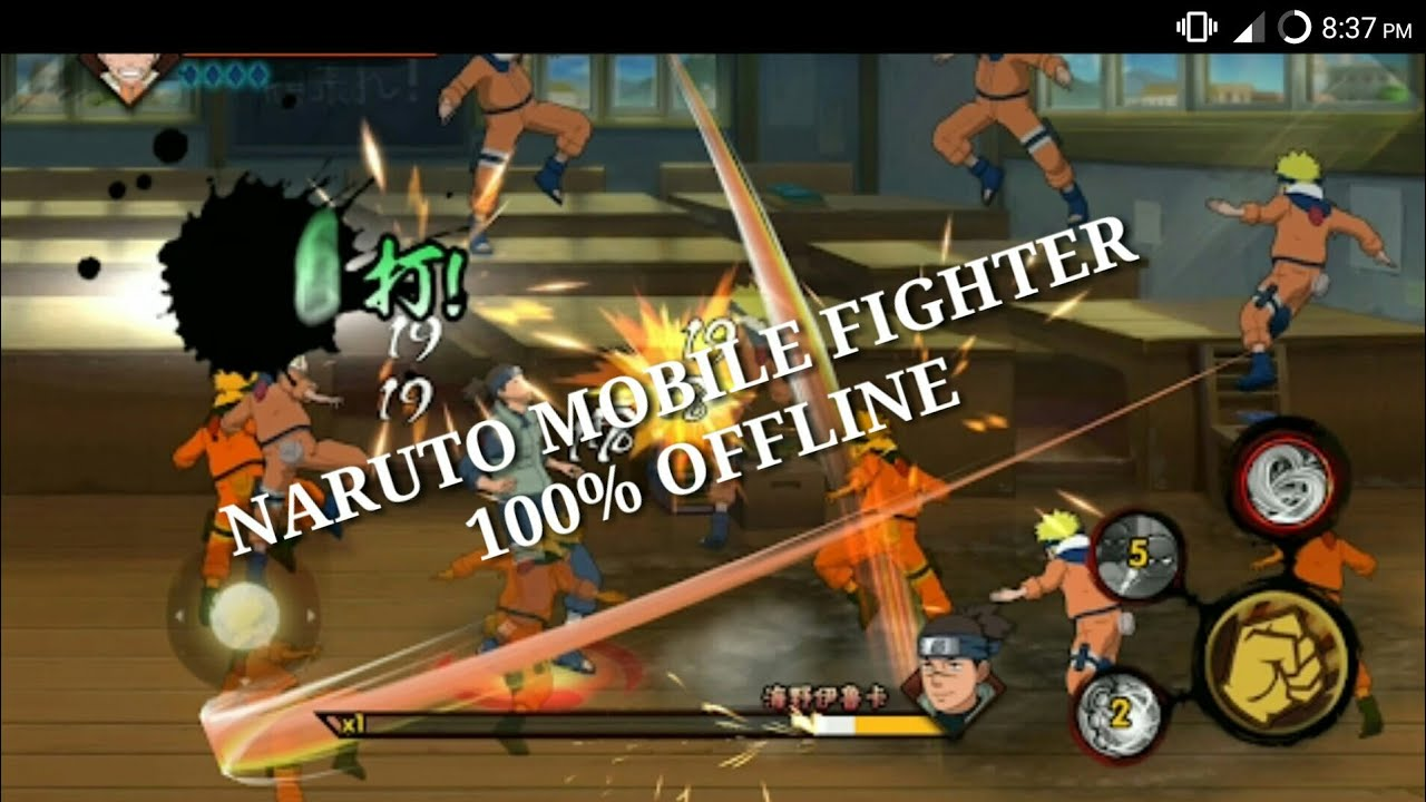 Naruto Mobile Fighter Offline Version