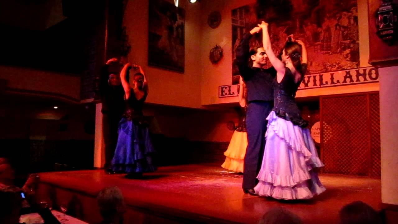 Flamenco At El Patio Sevillano Seville Spain Youtube